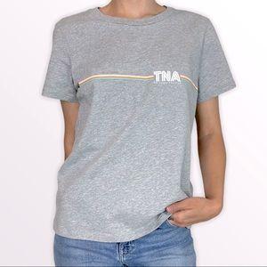 Aritzia Tna Retro-Style Logo T-Shirt
